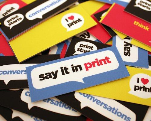 multi coloured mini cards in a heap